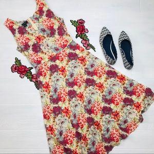 J. Crew Vintage Silk Dress